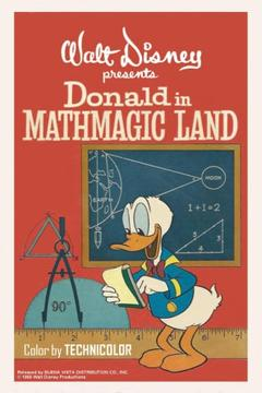 Best Comedy Movies of 1959 : Donald in Mathmagic Land