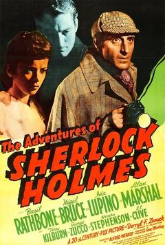 Best Mystery Movies of 1939 : The Adventures of Sherlock Holmes