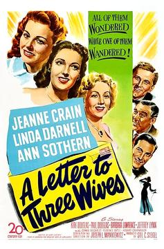 Best Romance Movies of 1949 : A Letter to Three Wives