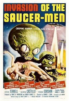 Best Horror Movies of 1957 : Invasion of the Saucer-Men