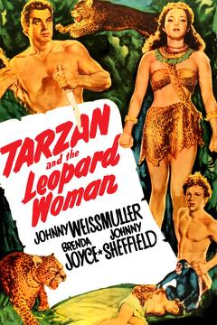 Best Adventure Movies of 1946 : Tarzan and the Leopard Woman