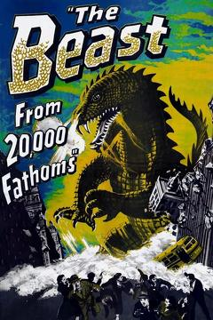 Best Science Fiction Movies of 1953 : The Beast from 20,000 Fathoms