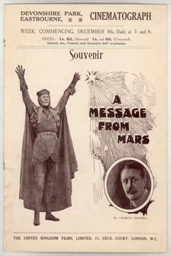 Best Fantasy Movies of 1913 : A Message from Mars
