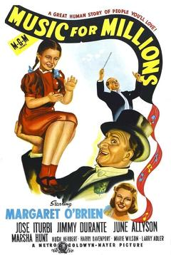 Best Music Movies of 1944 : Music for Millions
