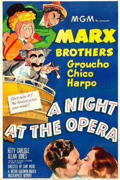 Best Comedy Movies of 1935 : A Night at the Opera