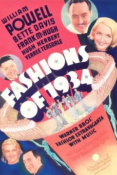 Best Music Movies of 1934 : Fashions of 1934