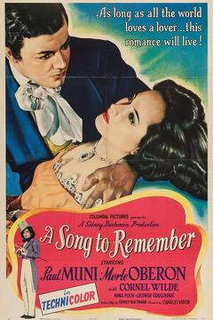 Best Music Movies of 1945 : A Song to Remember