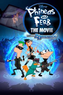 Best Tv Movie Movies of 2011 : Phineas and Ferb the Movie: Across the 2nd Dimension