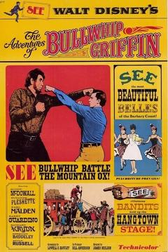 Best Family Movies of 1967 : The Adventures of Bullwhip Griffin
