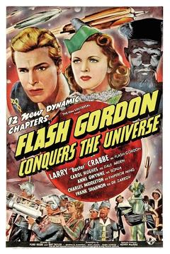 Best Science Fiction Movies of 1940 : Flash Gordon Conquers the Universe