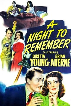 Best Mystery Movies of 1942 : A Night to Remember