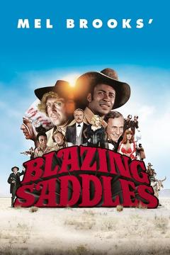 Best Comedy Movies of 1974 : Blazing Saddles
