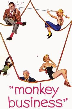 Best Romance Movies of 1952 : Monkey Business