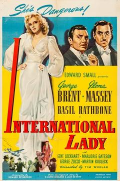 Best Action Movies of 1941 : International Lady