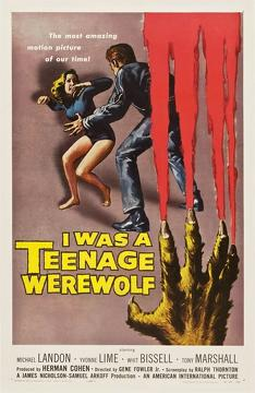 Best Science Fiction Movies of 1957 : I Was a Teenage Werewolf