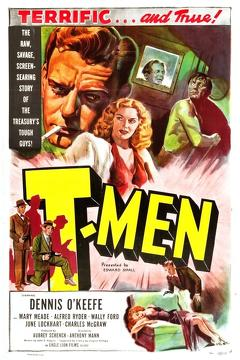 Best Thriller Movies of 1948 : T-Men