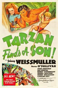 Best Adventure Movies of 1939 : Tarzan Finds a Son!