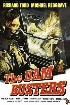 Best Thriller Movies of 1955 : The Dam Busters