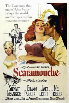 Best Comedy Movies of 1952 : Scaramouche