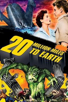 Best Science Fiction Movies of 1957 : 20 Million Miles to Earth