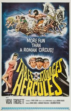 Best Science Fiction Movies of 1962 : The Three Stooges Meet Hercules