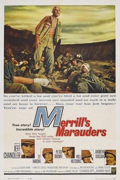 Best Action Movies of 1962 : Merrill's Marauders