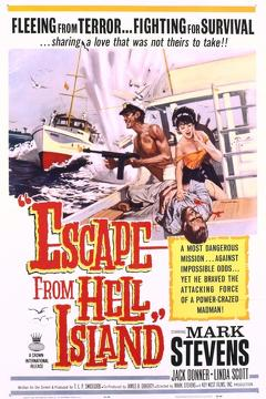 Best Thriller Movies of 1963 : Escape from Hell Island
