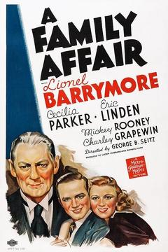 Best Family Movies of 1937 : A Family Affair