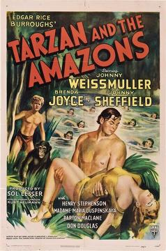 Best Adventure Movies of 1945 : Tarzan and the Amazons