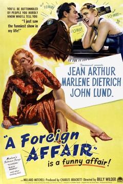 Best Romance Movies of 1948 : A Foreign Affair