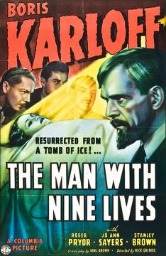 Best Science Fiction Movies of 1940 : The Man with Nine Lives