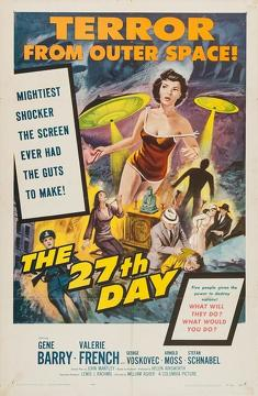 Best Science Fiction Movies of 1957 : The 27th Day