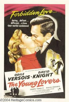 Best Drama Movies of 1954 : The Young Lovers