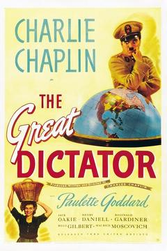Best Comedy Movies of 1940 : The Great Dictator