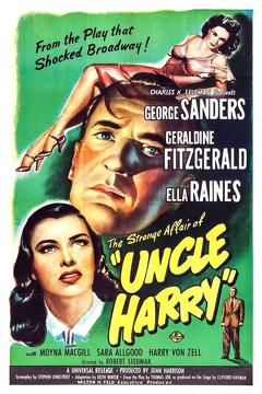 Best Thriller Movies of 1945 : The Strange Affair of Uncle Harry
