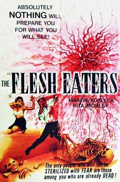 Best Science Fiction Movies of 1964 : The Flesh Eaters