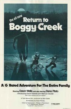Best Family Movies of 1977 : Return to Boggy Creek