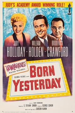 Best Comedy Movies of 1950 : Born Yesterday