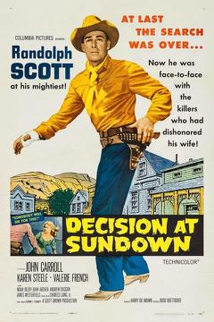 Best Western Movies of 1957 : Decision at Sundown