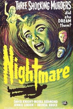 Best Horror Movies of 1964 : Nightmare