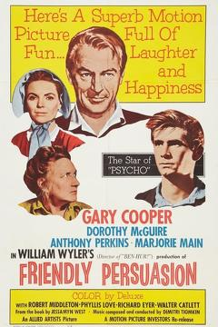 Best Western Movies of 1956 : Friendly Persuasion
