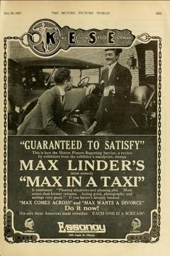 Best Comedy Movies of 1917 : Max in a Taxi