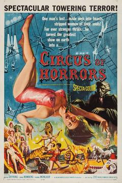 Best Horror Movies of 1960 : Circus of Horrors