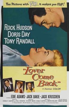 Best Romance Movies of 1961 : Lover Come Back