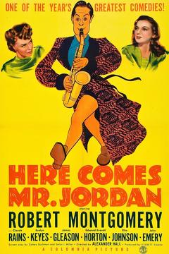 Best Comedy Movies of 1941 : Here Comes Mr. Jordan