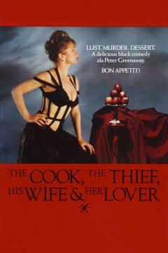 Best Crime Movies of 1989 : The Cook, the Thief, His Wife & Her Lover
