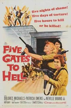 Best Adventure Movies of 1959 : Five Gates to Hell