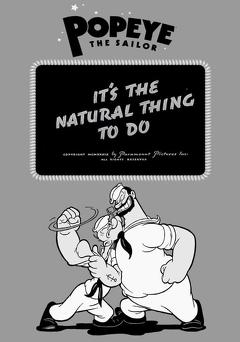 Best Animation Movies of 1939 : It's the Natural Thing to Do