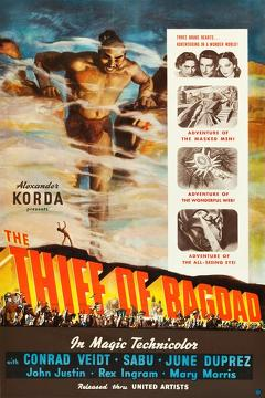 Best Family Movies of 1940 : The Thief of Bagdad