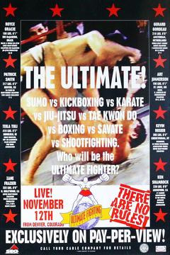 Best Action Movies of 1993 : UFC 1: The Beginning